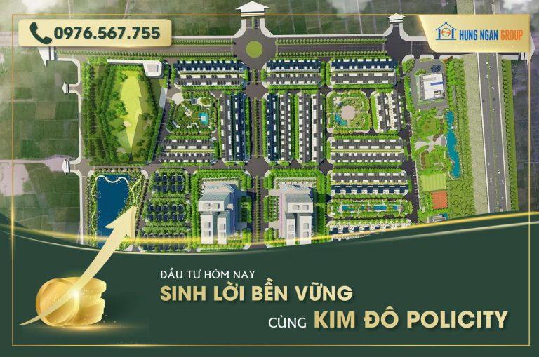 Bán shophouse S = 100m2, Kim Đô Policity mặt đường TL286