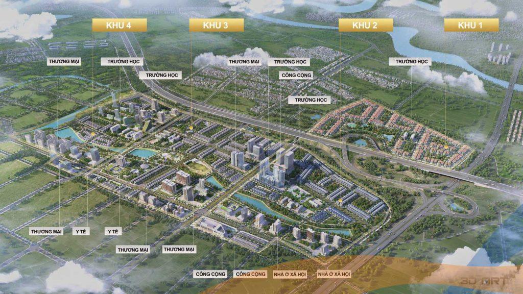 Khu đô thị mới thị trấn Chờ, Yên Phong, Bắc Ninh